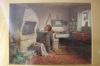 Antique Original Watercolour - A Devonshire Cottage - Henry Tozer 1864-1938 (4 of 11)