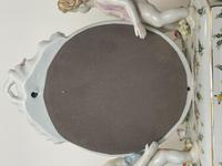 Pair of Small Dresden Victorian Style Porcelain Cherub Table Mirrors (36 of 60)