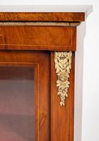 Burr Walnut Victorian Pier Cabinet (4 of 7)