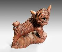 Late 19th Century Carved Wooden Dog (6 of 6)