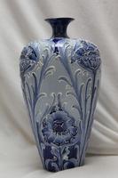 Moorcroft Florian Ware Vase - Poppy Design (2 of 3)
