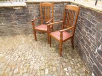 A Pair of Arts and Crafts Oak Chairs (7 of 10)