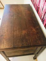 Wonderful George III Oak Sideboard Server / Buffet with Rare Cellaret Drawer c.1760-1820 (3 of 12)