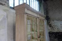 19th Century Gothic Bleached Pine Cabinet - Bookcase (14 of 15)
