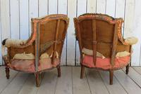 Pair of French Tub Armchairs for re-upholstery (3 of 9)