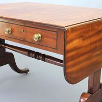 Regency Period Figured Mahogany Sofa Table c1815 (11 of 11)