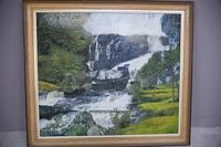 Large Waterfall Oil Painting (12 of 20)