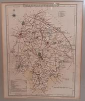 Antique Map of Warwickshire, 1807 (5 of 5)