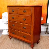 Edwardian Chest of Drawers Large (11 of 11)