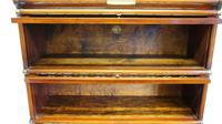 Good Quality Mahogany Globe Wernicke Sectional Glazed Bookcase (24 of 29)