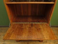 Vintage German School Cabinet with Fall Front, Mid Century Cabinet (11 of 16)
