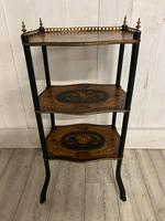 French Rosewood & Marquetry Etagere (7 of 7)