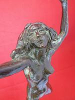 Femme Nue Dansant Bronze C1910-20 Francesco La Monaca 1882-1937 Attilio Valsuani (3 of 6)