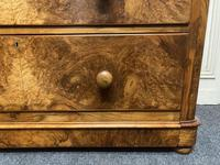 Fine Victorian Burr Walnut Chest of Drawers (7 of 15)