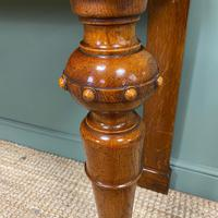 Stunning Victorian Oak Antique Console Table (4 of 7)