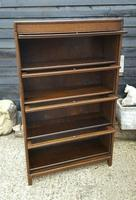 Antique Four Tier Solicitors Stacking Bookcase (3 of 4)