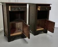 Pair of Breton Oak Bedside Cupboards (3 of 7)