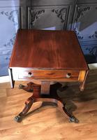Regency Mahogany Sofa Table (3 of 9)