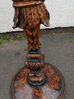 Striking 19th Century Figural Torchére (9 of 9)