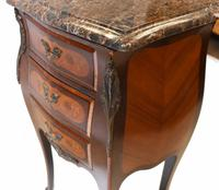 Pair of French Bedside Chests Antique Empire Nightstands (9 of 11)