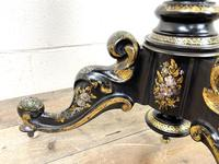 Antique Lacquered and Inlaid Chess Table (7 of 10)