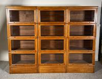 Three Stacking Bookcases In Light Oak Composed 4 Element-20th Century-france (6 of 11)