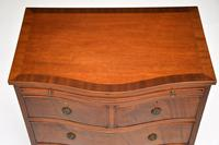 Small Antique Mahogany  Chest of Drawers (10 of 12)