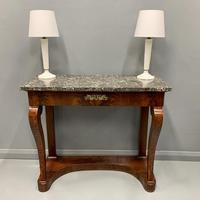 French Empire Marble Top Console Table (3 of 7)