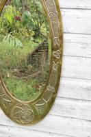 Arts & Crafts Movement Scottish / Glasgow School Large Oval Wall Mirror c.1900 (5 of 28)