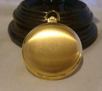 Vintage Swiss Oriosa Pocket Watch 1970s 12ct Gold Plated Full Hunter Quartz Fwo (6 of 11)