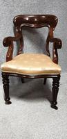 Outstanding Set Eight Mahogany Dining Chairs (2 of 9)