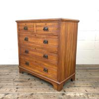 Edwardian Satinwood Chest of Drawers (5 of 10)
