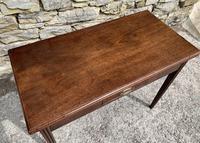 Antique Georgian Mahogany Fold Over Tea Table (8 of 27)