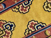 Antique Chinese Ningxia Rug (6 of 10)