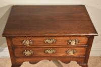 George III Lowboy on Square Cabriole Legs (2 of 7)
