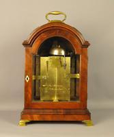 Fine Mahogany Verge Triple Pad Top Bracket Clock - Martineau, London (9 of 13)