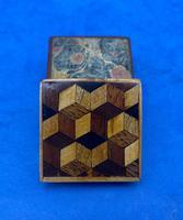 Victorian Rosewood & Tunbridge Ware Stamp Box (11 of 13)