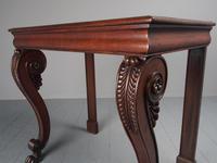George III Mahogany Hall Table (8 of 13)