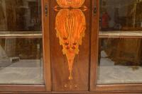 Antique Art Nouveau Inlaid Mahogany Cabinet Liberty of London (10 of 11)