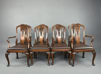 Antique Walnut Dining Suite by S Hille & Co London (3 of 12)