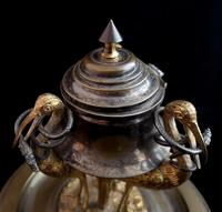Antique French Inkwell, Storks & Snakes (7 of 12)