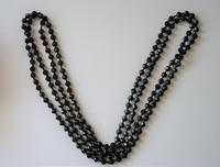 Very Unusual & Rare 1950s French Jet Necklace - Ideal Gift / Present / Boxed (4 of 8)