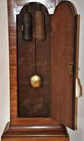 Lovely 19th Century Eight Day Mahogany Moon Rolling Longcase Clock by Mann of Norwich c.1810-1830 (8 of 10)