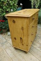 Lovely Old Victorian Pine Chest of Drawers - We Deliver! (5 of 7)