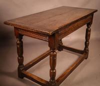 17th Century Oak Side Table (11 of 11)