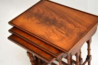 Antique Georgian Style Mahogany Nest of Tables (4 of 10)