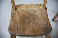 4 Rustic Elm Country Kitchen Chairs (10 of 14)