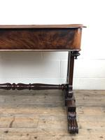Antique William IV Mahogany Side Table (11 of 16)