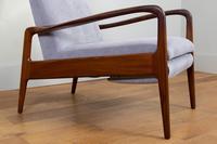Greaves & Thomas Mid Century Teak Reclining Armchair - We Have 2 (13 of 16)