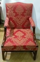 Superb George III Gainsborough Armchair (8 of 9)
